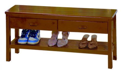穿鞋椅 實木 2尺